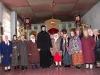 С прихожанами храма после литургии. Чечня.