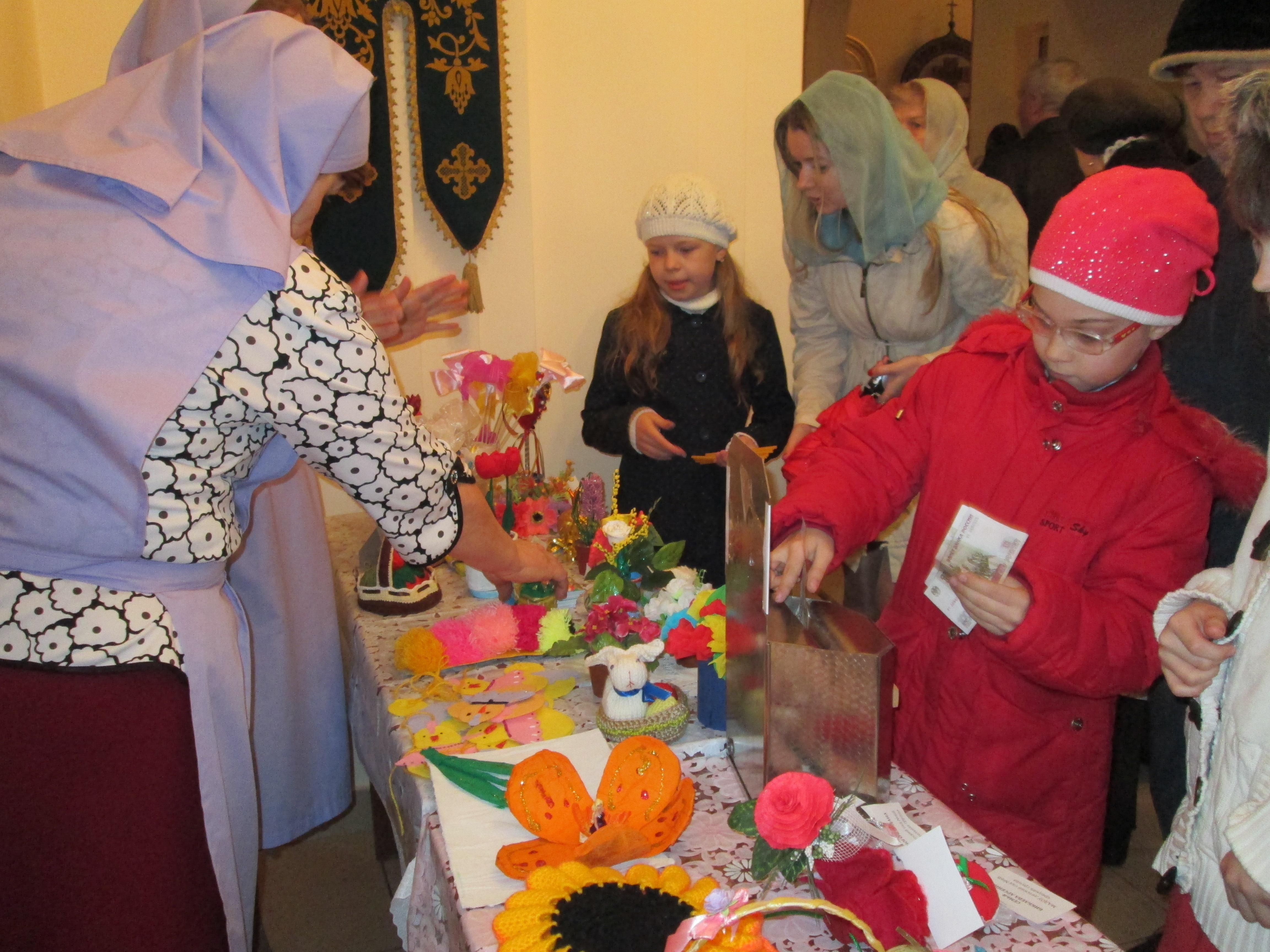 Поделка на благотворительную ярмарку в школу своими руками